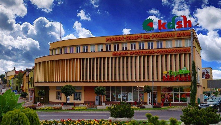 Projekt dla Kujawsko Dobrzyńskiej Spółdzielni Handlowej w Rypinie – przygotowanie do otwarcia sklepu Top Market Premium w Galerii Młyn w Rypinie oraz szkolenia pracowników w zakresie merchandisingu oraz obsługi klienta.