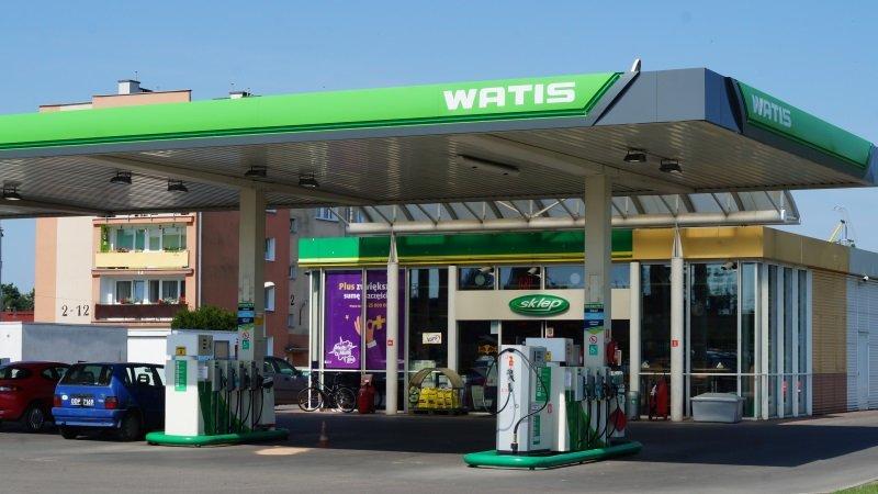 Projekt dla Stacji Benzynowych WATIS