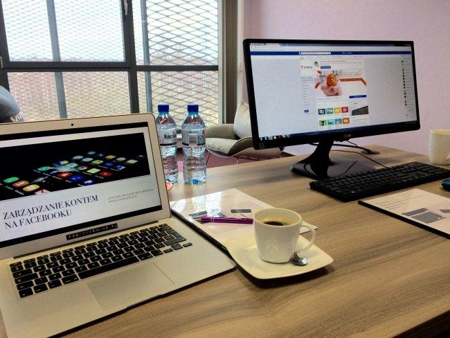 Zarządzanie stroną na Facebooku - szkolenie dla firmy Pradma